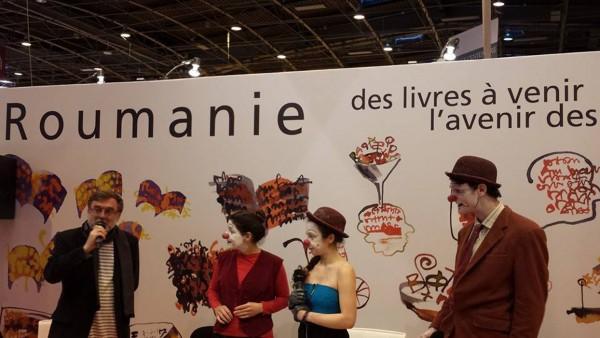 Romania la Salonul Cartii de la Paris. Viitorul cartilor un an mai tarziu