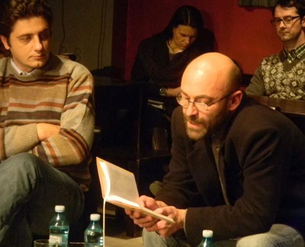 Filip Florian a citit din <em>Toate bufnitele</em> la Iasi