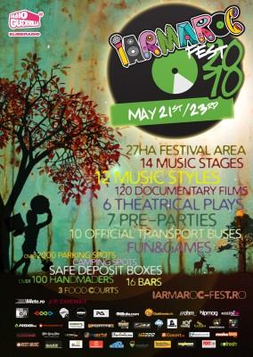 IARMAROC FEST: 200 de artisti pe 14 scene