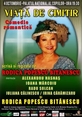 Rodica Popescu Bitanescu pune in scena <i>Viata de cimitir</i>