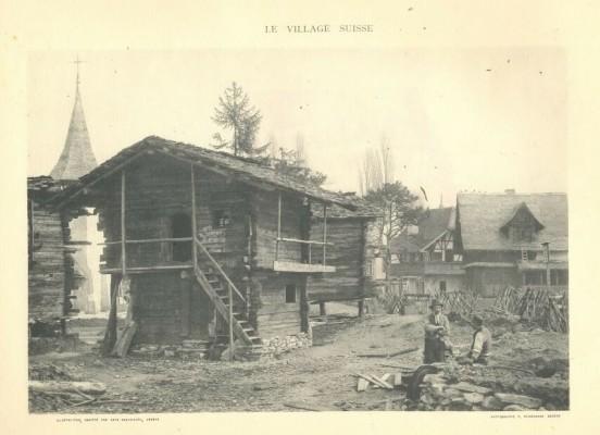 Viata unui sat elvetian la 1896. Expozitie de fotografie la MTR