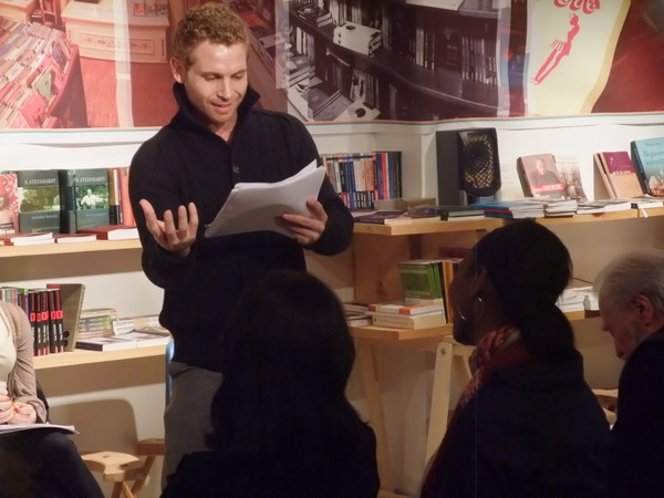 Lecturi performative la ICR New York: Matei Visniec si Peca Stefan