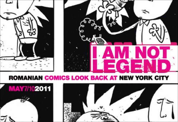 """I Am Not Legend"": Banda desenata romaneasca la New York"