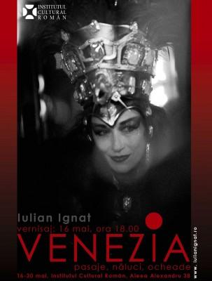 Carnavalul venetian vazut de fotograful Iulian Ignat