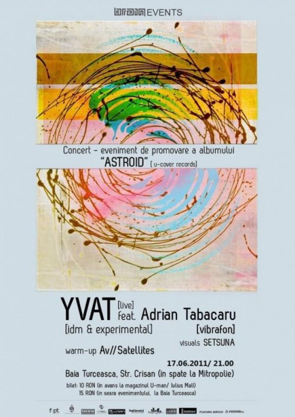 Yvat si Adrian Tabacaru lanseaza Astroid la Iasi