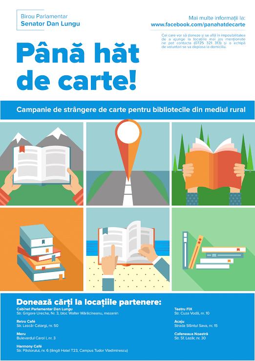 """""""Până hăt de carte!"""", 270 de cărți donate bibliotecii din comuna Gorban"""