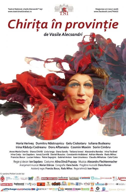 Chirița lui Vasile Alecsandri se întoarce după 20 de ani pe scena Teatrului Național Iași