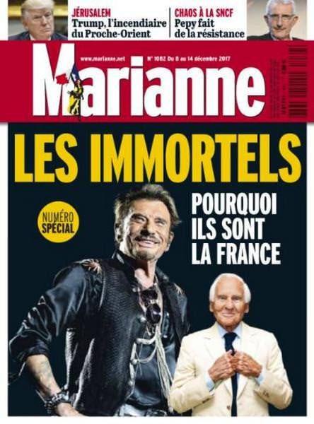 Jean d'Ormesson și Johnny Halliday: Franța, în ceas de doliu