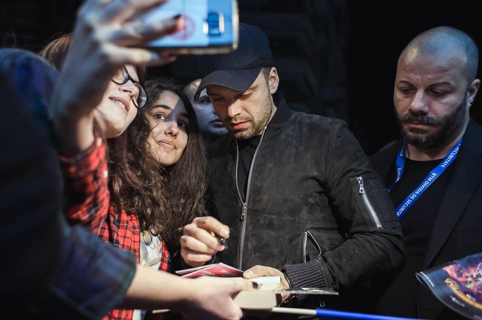 """Sebastian Stan la București: """"Trebuie să mă primiți înapoi"""""""