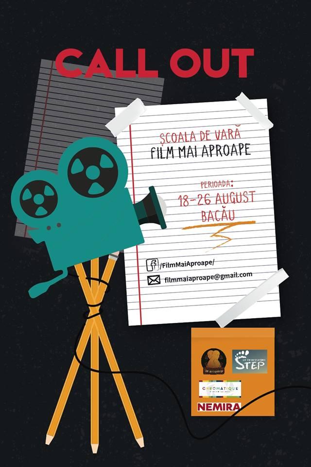 S-au deschis aplicațiile pentru a doua ediție a Școlii de vară Film mai aproape!