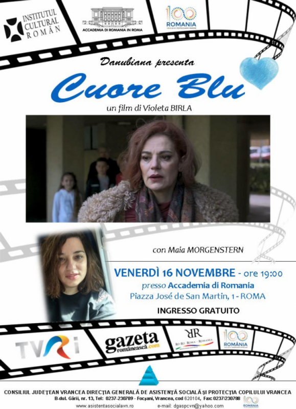 Actrița Maia Morgenstern în dialog cu comunitatea românească de la Roma cu ocazia Centenarului Marii Uniri