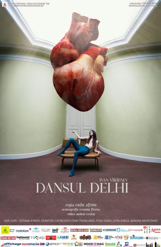 <i>Dansul Delhi</i>, cea mai nouă producție a lui Radu Afrim, la Teatru³