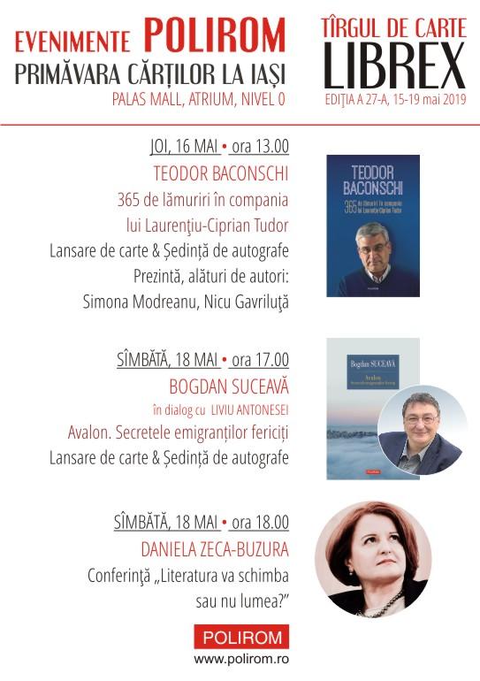 Editura Polirom la Târgul de Carte Librex, ediția a 27-a