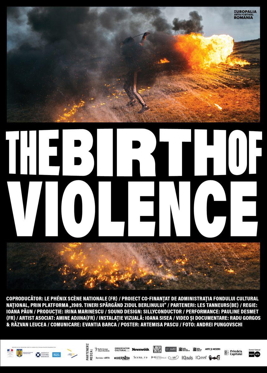 <i>The Birth of Violence</i> are premiera mondială la Europalia
