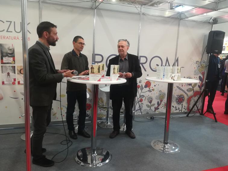 Lansarea la Gaudeamus a celei de-a IV-a ediții a volumului <i>Narcotice în cultura română</i> de Andrei Oișteanu