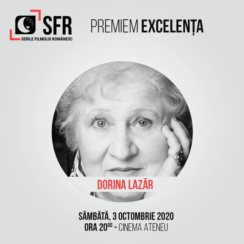 Marina Voica, Dorina Lazăr și Constantin Codrescu vor primi Premiul de Excelență SFR