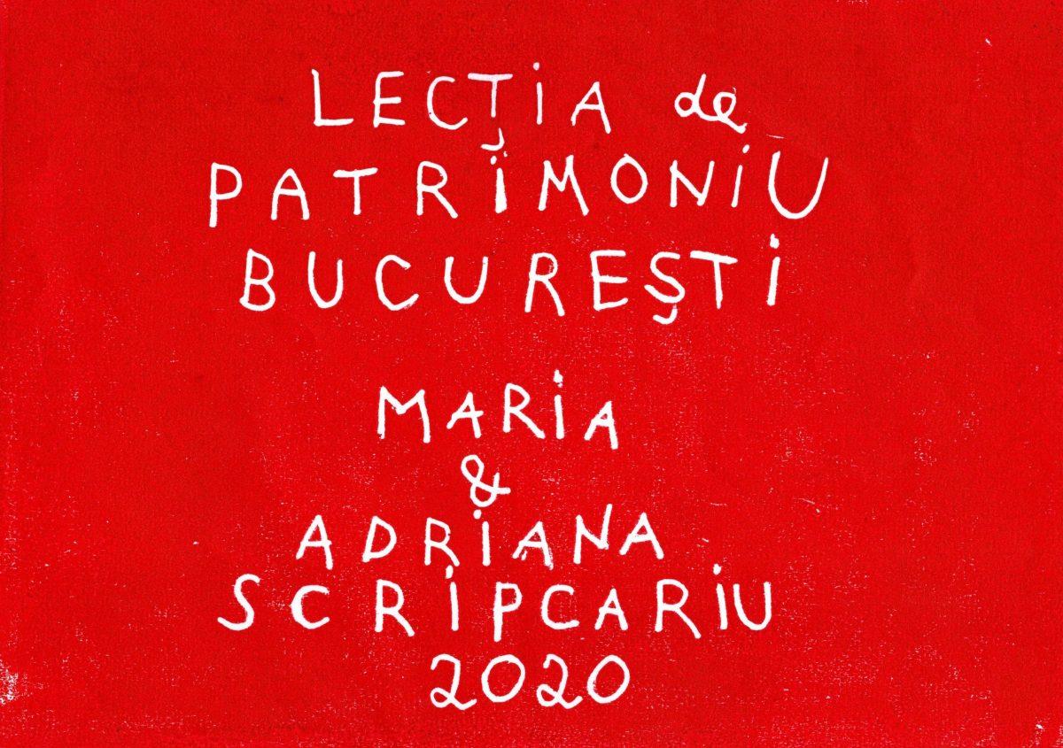 Lecția de patrimoniu București