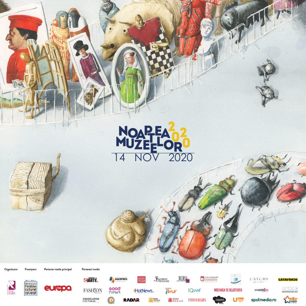 Noaptea Muzeelor este pregătită pentru o abordare digitală în 14 noiembrie