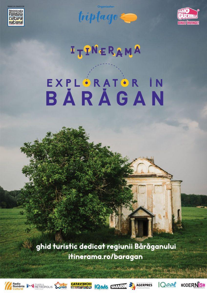 Itinerama – Explorator în Bărăgan, primul ghid turistic multimedia dedicat regiunii Bărăganului