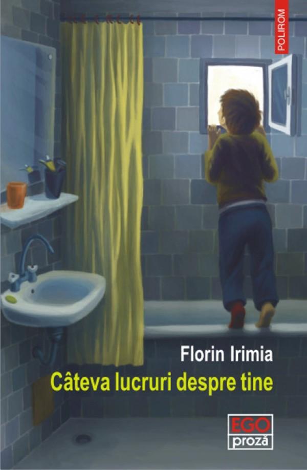 """Interviu cu Florin Irimia: """"Cand scrii, scrii pentru carte, nu pentru tine"""""""