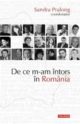 """Sandra Pralong, de la """"Newsweek"""" la <i>De ce m-am intors in Romania</i>"""