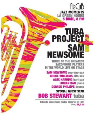 TUBA PROJECT & SAM NEWSOME la ArCuB Jazz Moments