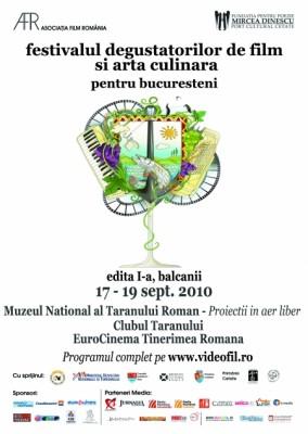 Festivalul degustatorilor de film si arta culinara vine la Bucuresti
