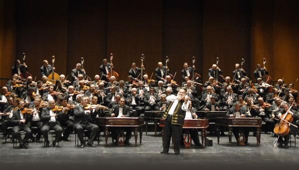 Budapest Gypsy Symphony Orchestra concerteaza la Sala Palatului