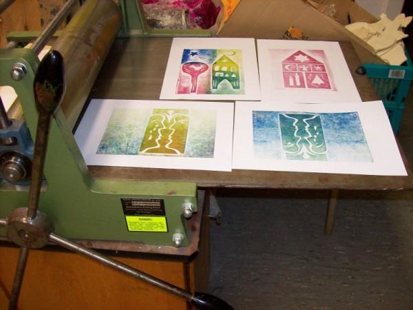 2 artisti germani si 3 ateliere de creativitate la MTR