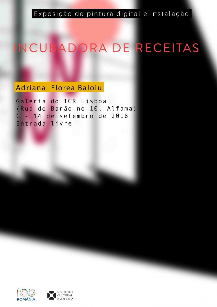 <i>Incubator de rețete</i> de Adriana Florea Băloiu la Lisabona