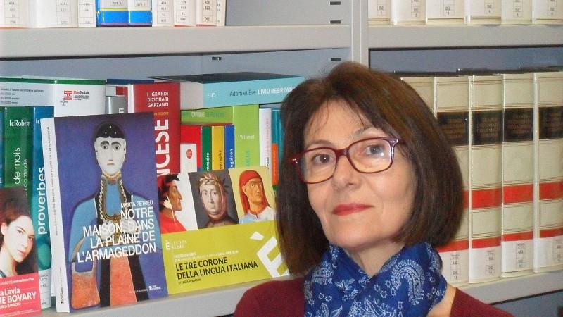 """Interviu cu traducătoarea Florica Ciodaru-Courriol: """"Traducătorul este albina ce umple cu mierea limbii străine fagurele oferit de autor"""""""