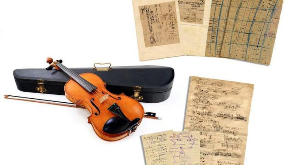 O licitație cu cântec: vânzarea memoriei lui Enescu